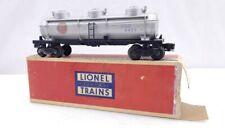 Lionel Trains Postwar 6425 Gulf 3D Tank Car W/ Original Box O Scale