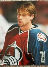 Peter Forsberg Colorado Avalanche 8 x 10 Picture 1997