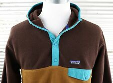 Patagonia Synchilla Snap-T Fleece Hoody Mens L large pullover jacket 25461 $139