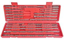 20 Piece Hilka SDS Drill Bit set in case New Free P&P 49700020