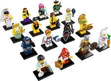 LEGO MINIFIGURES SERIE 7 COLECCIÓN COMPLETA 16 MINIFIGURAS 8831