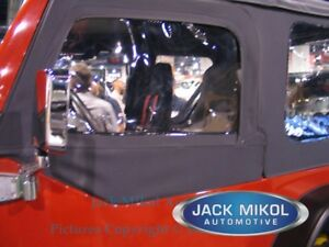 97-06 Jeep Wrangler TJ Replacement Upper Skins Front Windows - New