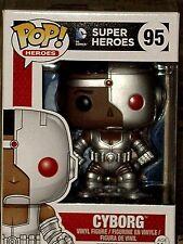 Funko Pop! Heroes DC Comics Justice League CYBORG Collectible Vinyl Figure #95