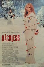 """RECKLESS ORIGINAL POSTER 40"""" X 27"""" ROLLED MINT -NOT A REPRODUCTION"""