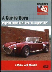 A Car Is Born - Pilgrim Sumo 5.7 Litre V8 Super-Car - DVD - Region 2 - FAST POST