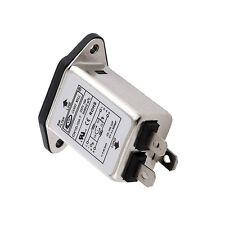 EMI RFI Filter AC 250V 10A CW1D-10A-T Suppressor Power Line Noise Filter CA
