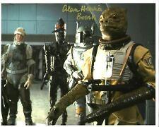 Star Wars Alan Harris Bossk Deceased Signed Autograph 10 x 8 Photograph
