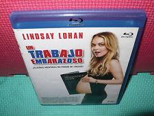UN TRABAJO EMBARAZOSO - LINDSAY LOHAN -  BLU-RAY