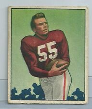 1950 Bowman Football Paul Salata Card # 70 Vg-Ex Condition Set Break (CSC) 49ers