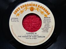 """NORTHERN SOUL WIGAN MECCA R&B 7"""" RECORD CASHING IN THE VOICES OF EAST HARLEM"""