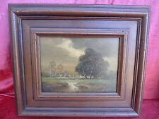 schönes,altes Gemälde__ Landschaft__J.v.Delft___!