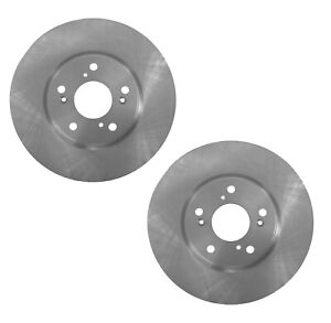 Brembo Pair Set of 2 Front Vent Coated Disc Brake Rotors For Honda Accord Civic