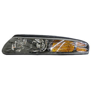 GM2502215 New Head Lamp Assembly Driver Side