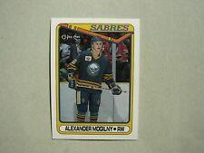 1990/91 O-PEE-CHEE NHL HOCKEY CARD #42 ALEXANDER MOGILNY ROOKIE NM SHARP!! OPC