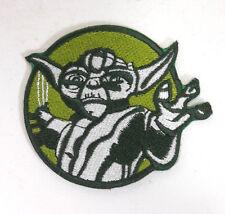"Star Wars Yoda 3"" Round Embroidered Patch-FREE S&H (SWPA-CD-Yoda-Round)"