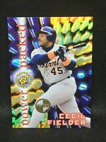 CECIL FIELDER #PP8 Power Packed 1996 Stadium Club Members Only Star MINT