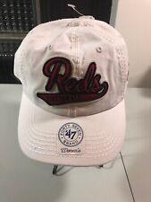 MLB '47 Brand Cincinnati Reds Adjustable Baseball Hat Cap