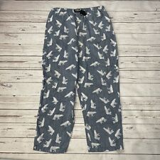 Columbia Mens Pajama Pants Blue Polar Bears Small Lounge