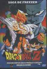 DRAGON BALL Z DVD LA SAGA DE FREEZER En Español Latino SPANISH 78 EPISODIOS NEW