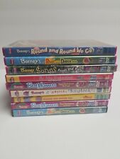 Lot Of 9 BARNEY THE DINOSAUR Children's DVDs Songs Rhymes Sing Along