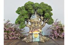 Secret Magical Fairy House Pixie Elf Green Man Treehouse Home Garden Ornament