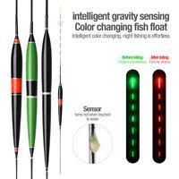Smart Fishing Float LED Light Automatic Alarm Night Electronic Fishing Floats