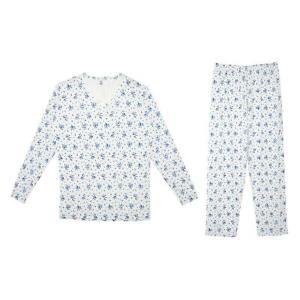 Ladies Floral Loungewear PJ Jersey Pyjama Set Womens Nightwear Co Ord Loungesuit