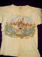 Vintage Disneyland Magic Kingdom (California) T-Shirt (1960) Child Size 12, Used
