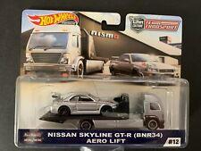 Hot Wheels Nismo R34 S Tune Aero Lift Team Transport FLF56-956E 1/64