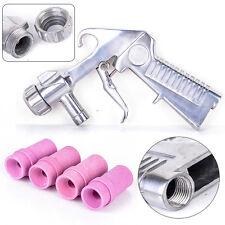 Sandblaster Air Siphon Sand Blasting Feed Blast Gun w/ Ceramic Nozzle Abrasive