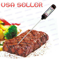 New Instant Read Digital Probe Thermometer Food Cooking Meat Kitchen BBQ Candy