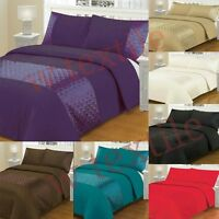 3Pc Duvet Cover Ellipse Bedding Set Quilt Cover Single,Double,King,Super King