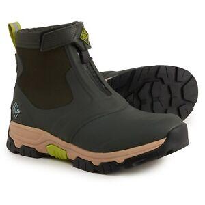 Muck Boot Apex Mid Zip Ankle Boots Waterproof Moss/Tan Men's US 11 NIB