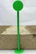Estrichmesspunkte, Grün, Estrich-Messpunkt mit Stabilisierungsplatte, Messpunkt