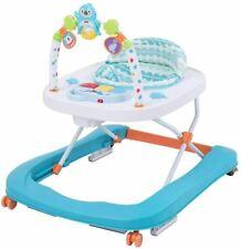Multi-Functional Baby Go Round Walker, First Steps Toddler Music Folding Walker