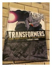 Transformers The Definitive G1 Collection TARGET: 2006 Issue 1 Hardback Book