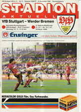 BL 86/87  VfB Stuttgart - SV Werder Bremen
