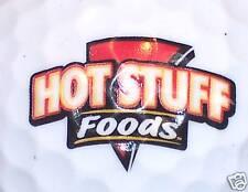 Food (1) Hot Stuff Foods Logo Golf Ball Balls