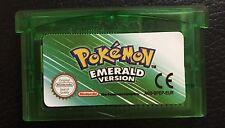 Pokemon Emerald Nintendo Game Boy Advance SP GBA Cartridge gameboy gbc DS NDSL