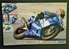 Vintage Poster Yamaha Factory Racing Jamie Hacking YZF-R1 YZF-R6