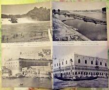 1962 Europe le Palais des Doges Venise Italie,Malte Vieux Fort ,Suisse,Allemagne