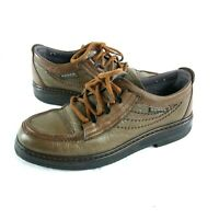 Vintage Hoggs of Fife Walking Shoes Mens Size UK 6 Brown Leather Lace Up