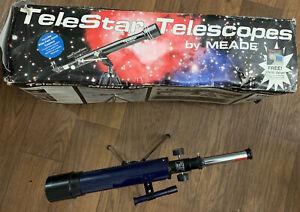 Meade Telestar Refracting Telescope Model 60AZ & Tripod Bonus  Ertl 150 Power