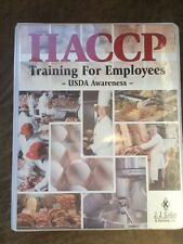 Vhs Haccp Training Kit For Employees Usda Awareness Food Safety Training English
