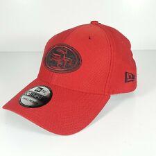 NEW ERA 39THIRTY NFL SAN FRANCISCO 49ERS LOGO BASEBALL CAP FITTED SZ SMALL-MED