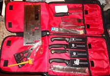 Mercer International Culinary School Set Knife Set plus extras and hard case