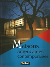OLIVIER BOISSIERE MAISONS AMERICAINES CONTEMPORAINES + PARIS POSTER GUIDE