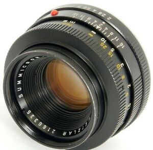 Summicron-R 1:2/50mm Sharp PRIME Lens by LEITZ 1966 GREAT on Film & DIGITAL!