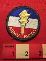 Vintage Ebroidered Sew-On ARMY ROTC PATCH  00B7