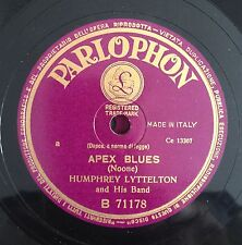 "RARE 78RPM 10"" PARLOPHON HUMPHREY LYTTELTON AND HIS BAND APEX BLUES/1919 MARCH"
